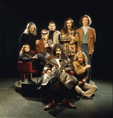 Zappa and mothers 1968
