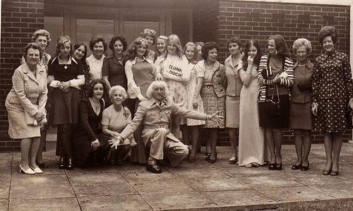 Duncroft savile visit1974